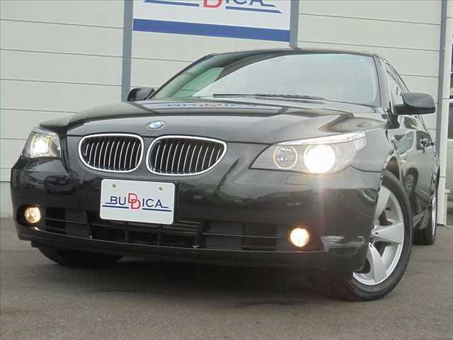 BMW 525iハイラインパッケージ 黒革 サンルーフ HDDナビ