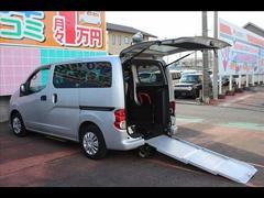 NV200バネットワゴンチェアキャブ スロープ 助手席リフトアップシート 車イス電動固定 スライドドア連動ステップ