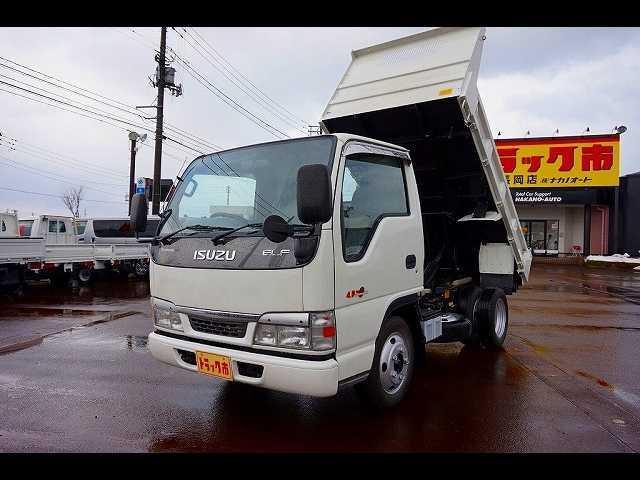 いすゞ エルフトラック 2t FFL 強化ダンプ (なし)