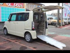 N BOX+車いす仕様車スローパーリアシート付GLパッケージ電動スライド