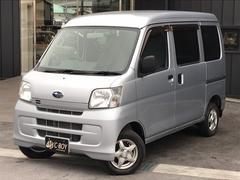 サンバーバントランスポーター 4WD  社外CDデッキAU付 社外アルミ