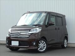 デイズルークスハイウェイスターX 純正SDナビ Aビュー 新品タイヤ交換