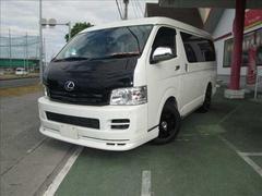 沖縄の中古車 トヨタ ハイエースワゴン 車両価格 169万円 リ済別 平成19年 7.7万K ホワイト