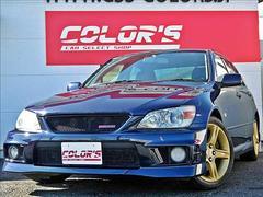 アルテッツァRS200 クオリタート 特別仕様車 専用ゴールドAW