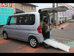 タントL SA2 車イス仕様スローパーリアシート付4人電動ウインチ