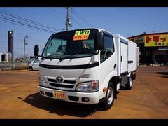 ダイナトラック1.35t 4WD FJL Sタイヤ 低温冷凍車