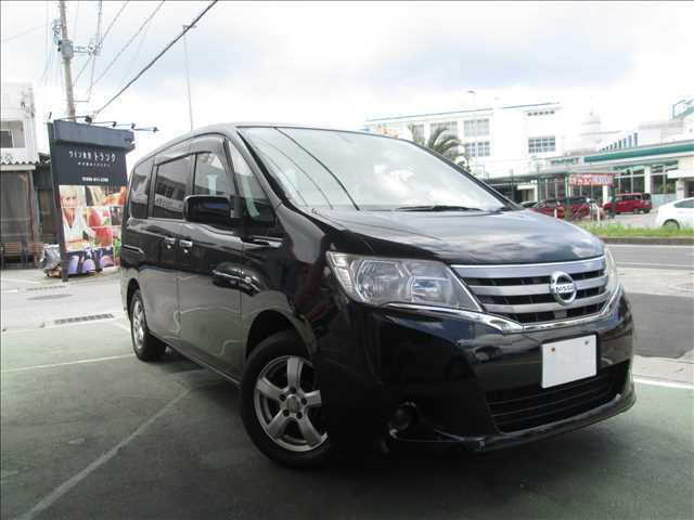 沖縄の中古車 日産 セレナ 車両価格 ASK リ済別 2011(平成23)年 10.3万km ス-パ-ブラック2S