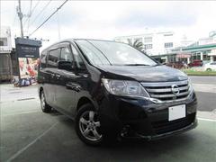 沖縄の中古車 日産 セレナ 車両価格 109万円 リ済別 平成23年 10.3万K ス−パ−ブラック2S