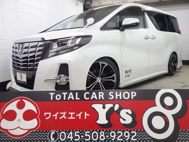 トヨタ SA 4WD BLITZ エアロ 車高調DSC 両側パワスラ