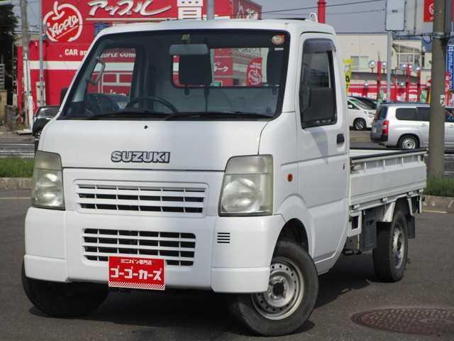 スズキ KCエアコン・パワステ 4WD 1年間保証付き