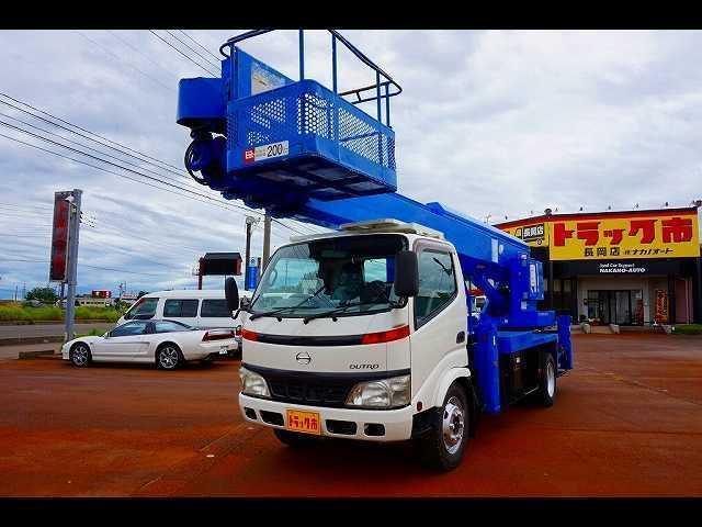 日野 高床 標準ロング 22M 高所作業車