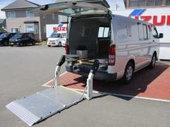 ハイエースバンDX 4WD トヨタ純正スイングアームリフト ディーゼル車