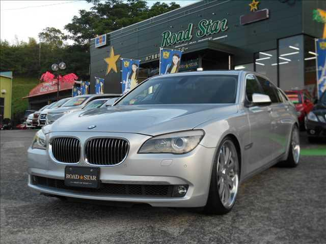 BMW 4D 740iL L・R 5AT サンルーフ 純正ナビ