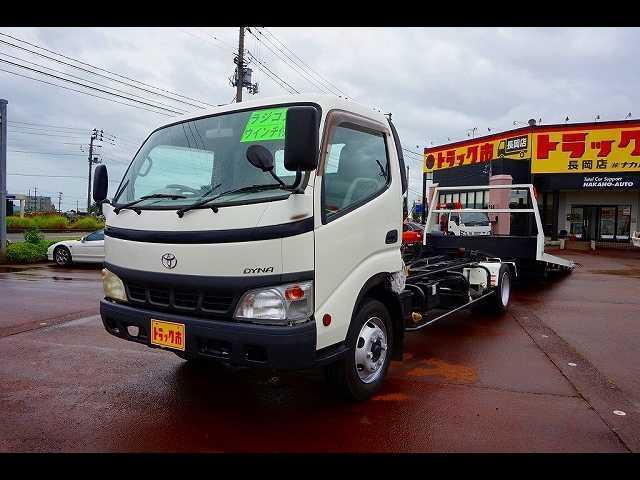 トヨタ 3t FJL ワイド超ロング 車載キャリアカー