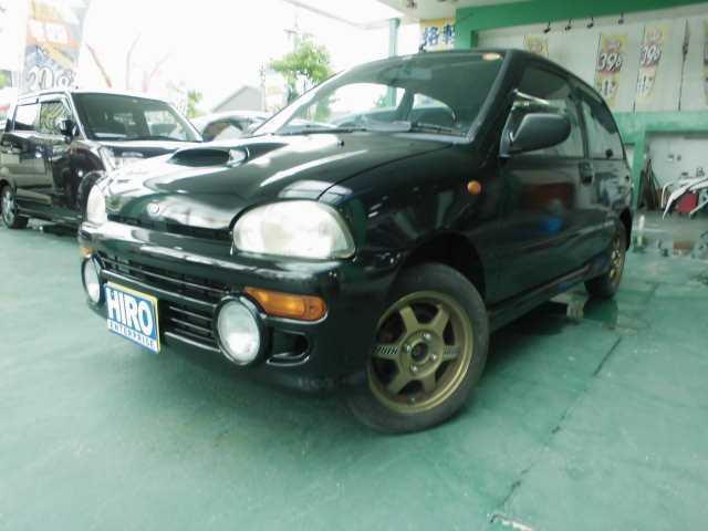 スバル RX-R 4WD マニュアル スーパーチャージャ CD