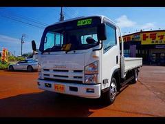 エルフトラック2t 4WD FFL ワイドロング 平ボディ