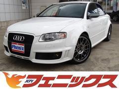アウディ RS4RS4ホワイトスタイルLTD4WD HDDフルセグナビ本革S
