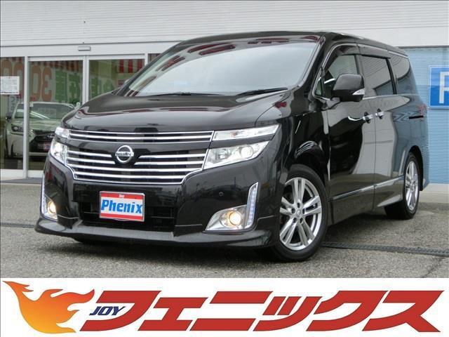 350ハイウェイスタープレミアム4WD本革HDDナビ後席M(1枚目)