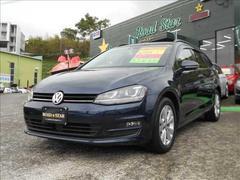 VW ゴルフヴァリアントTSI Comfortline ワンオーナー ETC ナビ