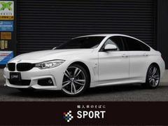 BMW420iグランクーペ Mスポーツ フルセグ純正ナビ ACC