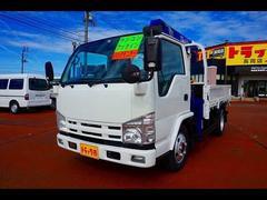 エルフトラック2.85t FFL 標準セミロング 4段クレーン付