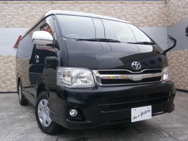 トヨタ 4WD 2.7 GL 4AT 10人乗 オートサイドステップ