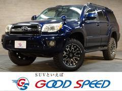 ハイラックスサーフSSR−X ルーフレール リアスポ HDDナビ 4WD