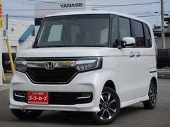 N BOXカスタムカスタムG・L Hondaセンシング 4WD 届出済未使用車