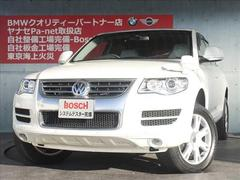 VW トゥアレグV6 サンルーフ レザーシート 社外ナビ