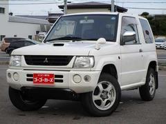 パジェロミニV 4WD ターボ 中古スタットレスタイヤ付