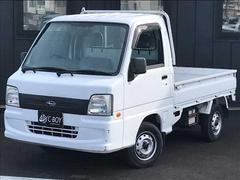 サンバートラックTB 4WD   5速マニュアル 純正ラジオ パワステ