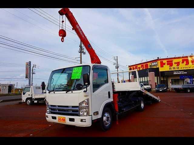 マツダ 3.05t 超ロング クレーン付キャリアカー