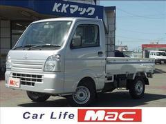 キャリイトラックKC 4WD 届出済未使用車 新車保証継承付き