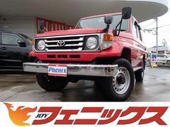 ランドクルーザー704ドアLX4WD 5MTディーゼルモデルCDオーディオ
