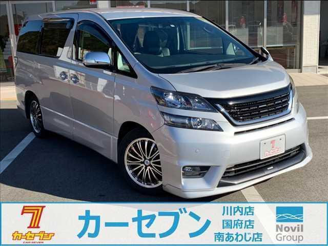 トヨタ 2.4Zモデリスタエアロ・純HDDナビ・Rモニタ・両側パワー