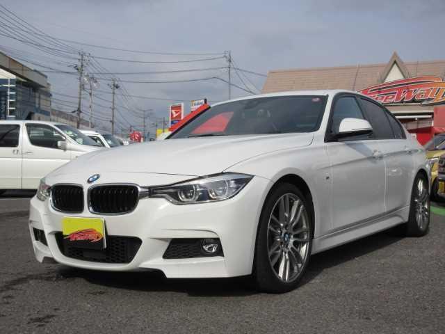 BMW ワンオーナー・サンルーフ・黒革シート・MスポーツAW・エアロ