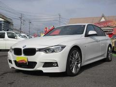 BMWワンオーナー・サンルーフ・黒革シート・MスポーツAW・エアロ