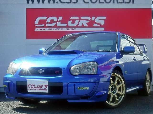 スバル WRX 2004 Vリミテッド STIマフラーワーク18AW