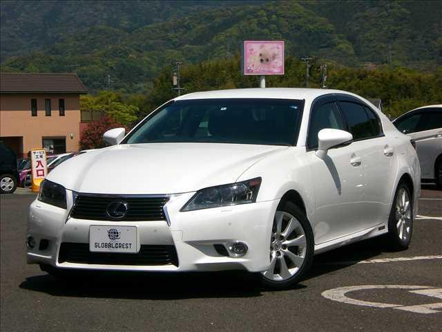 2.5GS300h I package 黒革エアーシート(1枚目)