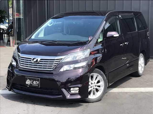 トヨタ 2.4Z プラチナセレクション 社外HDDナビ ワンセグTV