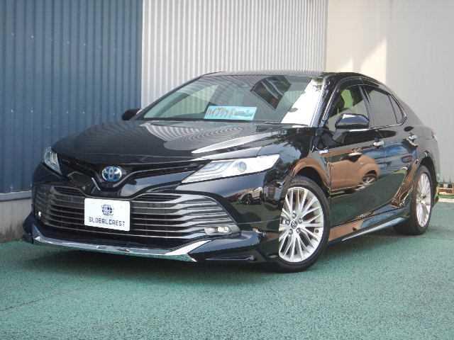 トヨタ 2.5G レザーパッケージ モデリスタエアロ・純正ナビ/TV