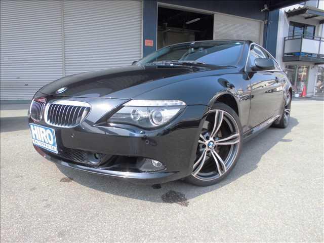 BMW 650i サンルーフ キセノン 黒革パワーシート