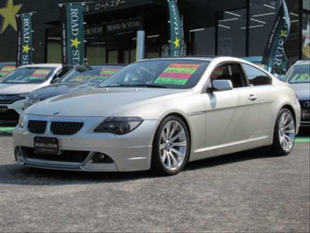 BMW 6シリーズ 645CI サンルーフ HDDナビ ETC 本革シート