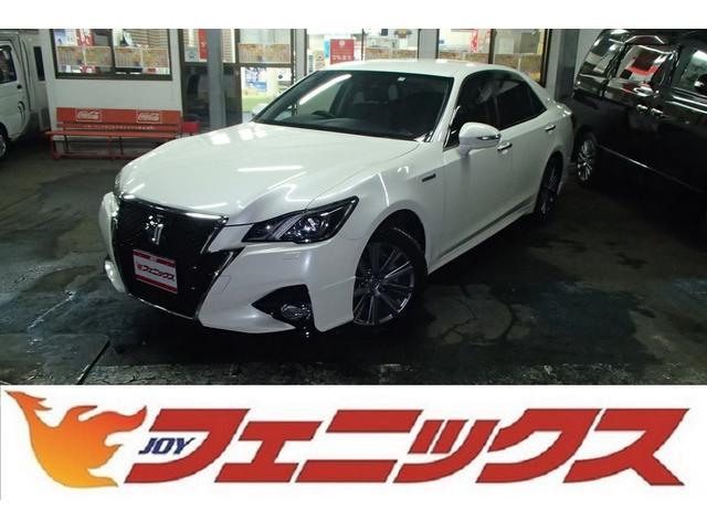 トヨタ アスリートGFourメーカーナビ黒革Pシートセーフティセンス