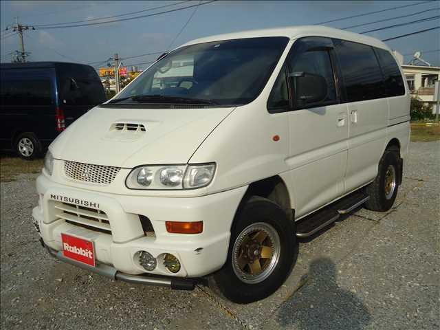 沖縄の中古車 三菱 デリカスペースギア 車両価格 ASK リ済別 1999(平成11)年 19.8万km ソフィアホワイト