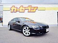 BMW650i サンルーフ/本革シート/メーカー純正HDDナビ