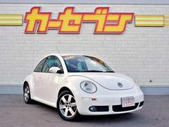 VW ニュービートルベースグレード 社外HDDナビ/バックモニター/純正16AW