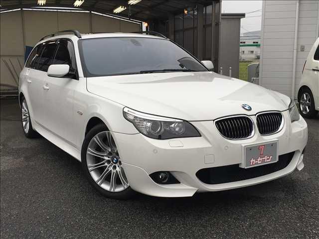 BMW 550iツーリングMスポーツ HDDナビ/本革/サンルーフ