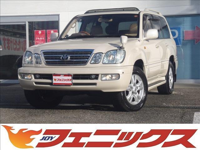 トヨタ シグナス4WDメーカーナビ本革シート付サンルーフ純正エアサス