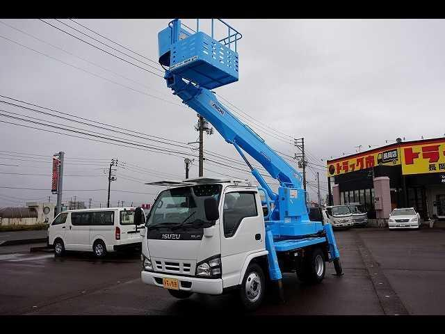 いすゞ 高床 標準 12M 高所作業車 アイチ製